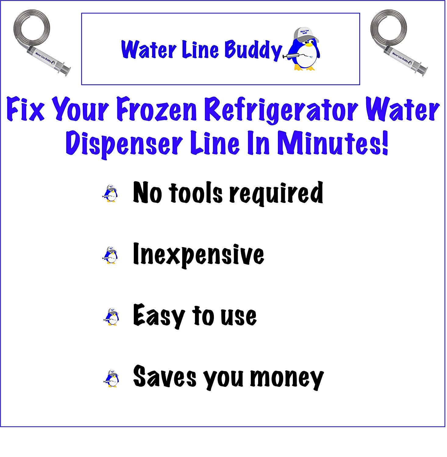 Water Line Buddy - Frozen Water Line Tool - Amazon